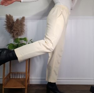 Vintage yellow light weight trousers